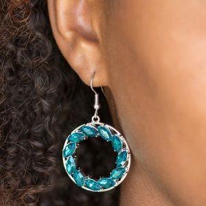 Jewelry - Blue Hoops
